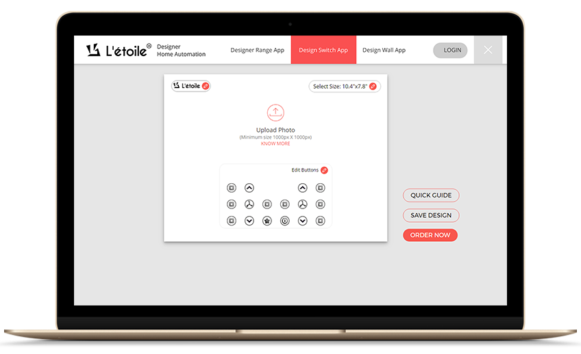design switch app