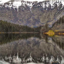 Jerome Lake by Patricia Phillips - Landscapes Travel ( alaska lakes )