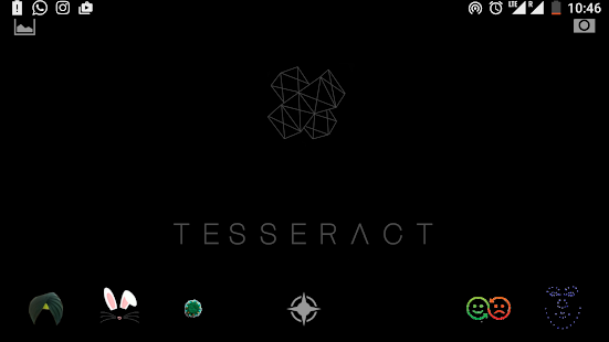 Tesseract - Face Lenses - screenshot