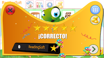 Screenshot of Learn to Read Spanish