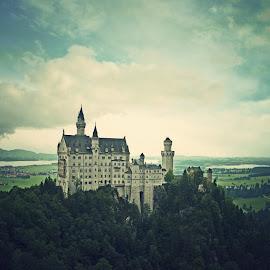 neuschwanstein castle by Adrian  Limani - Buildings & Architecture Public & Historical ( munich, germany, castle, neuschwanstein )