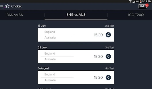 App Star Sports Live Cricket Score APK for Windows Phone