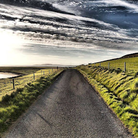 long road by Hayley Warriner - Landscapes Travel