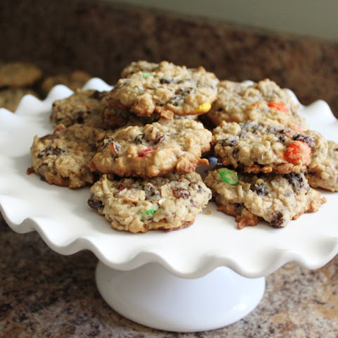Trail Mix Cookies - A Healthy After-School Snack