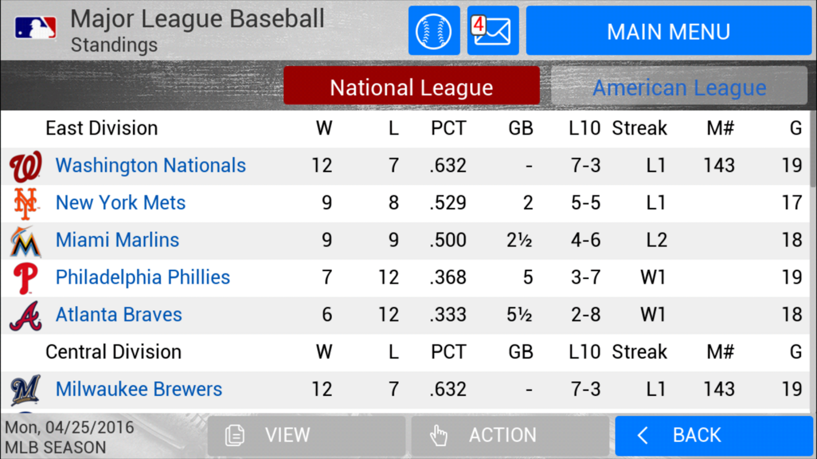 MLB Manager 2016 Screenshot 14