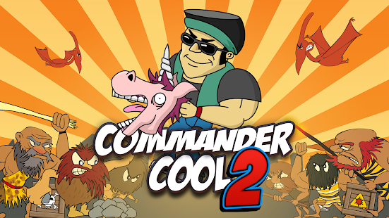 Commander Cool 2 - Dino Mayhem Screenshot