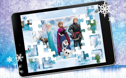 Puzzle App Frozen - screenshot