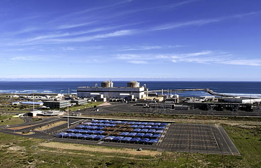 Koeberg Power Station generates nuclear energy. Picture: SUNDAY TIMES