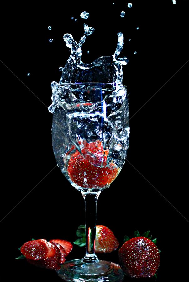 by Dipali S - Food & Drink Fruits & Vegetables ( water, fruit, splash, fresh, food, drink )