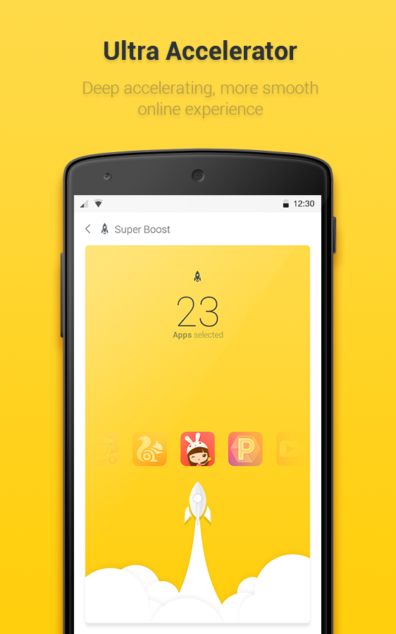 Yellow Booster Screenshot 4