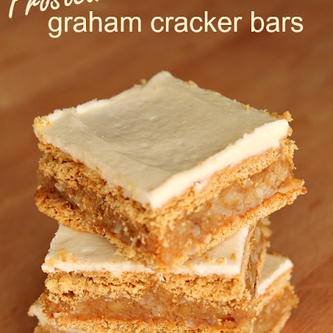 Frosted Graham Cracker Bars