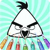 How To Color Angry Birds
