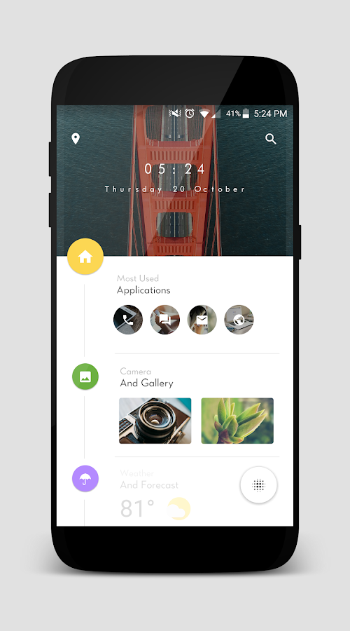 TimelineHome for KLWP Screenshot 0