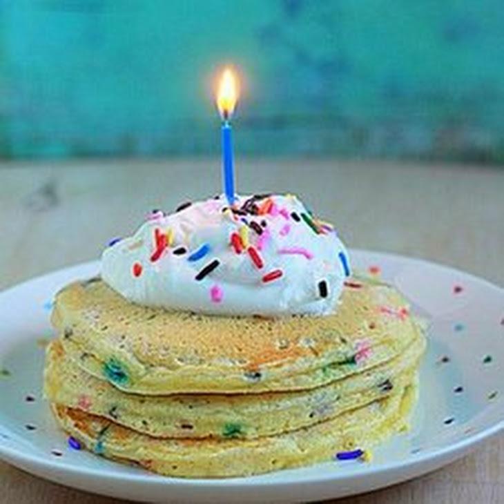 Funfetti Birthday Pancakes Recipe | Yummly