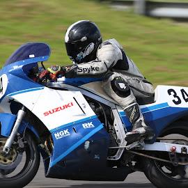 Suzuki by John Davies - Sports & Fitness Motorsports ( pembrey circuit, tamron sp 150-600mm f/5-6.3 vc usd, canon eos 7d mk2, jd photography, motorsport )