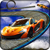 Game Dangerous Stunt Impossible Track Car Racing APK for Kindle