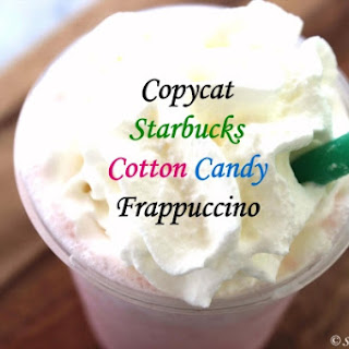 Copycat Starbucks Cotton Candy Frappuccino