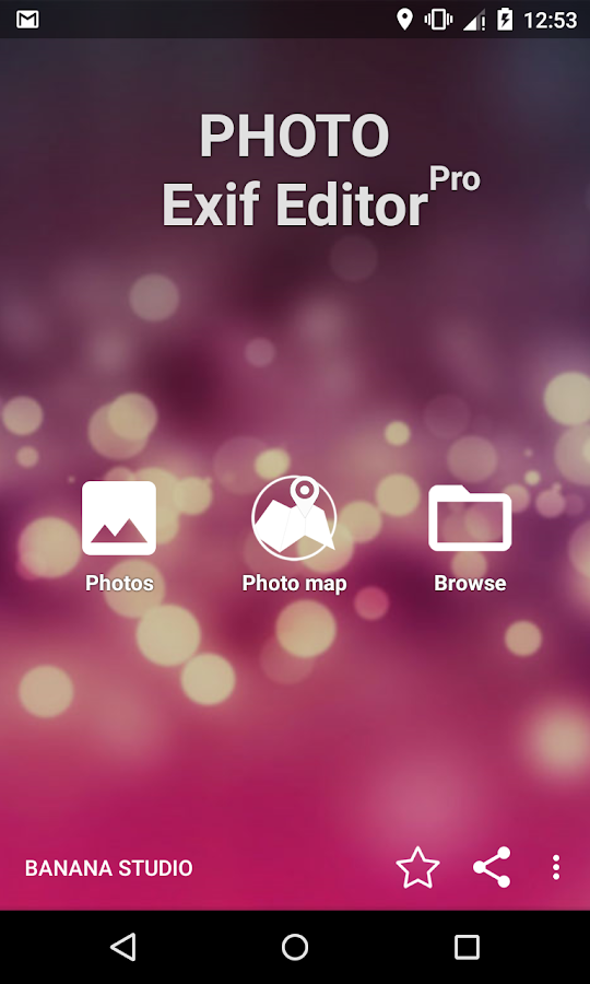 Photo Exif Editor Pro Screenshot 0