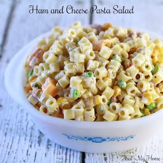 Ham and Cheese Pasta Salad