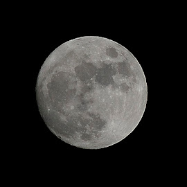 Moon by Catalin Popescu - Digital Art Things ( moon, super moon, full moon )