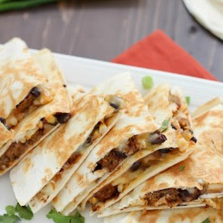 Easy Vegetarian Quesadilla