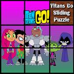 Teen Titans Go Sliding Puzzle : Slide for Kids Icon