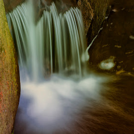 Falls by Stanley P. - Landscapes Waterscapes ( waterscapes )