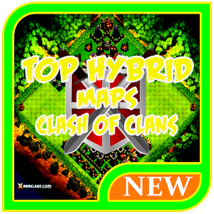 TOP Hybrid Maps Clash of Clans