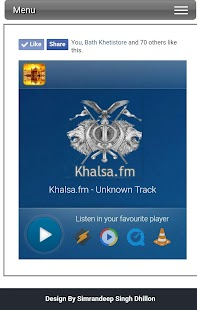 Khalsa.fm - screenshot