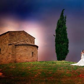 Holly Chappel by Philippe Grosvald - Wedding Bride & Groom ( saint-raphael, wedding, mariage, photographe, photo )