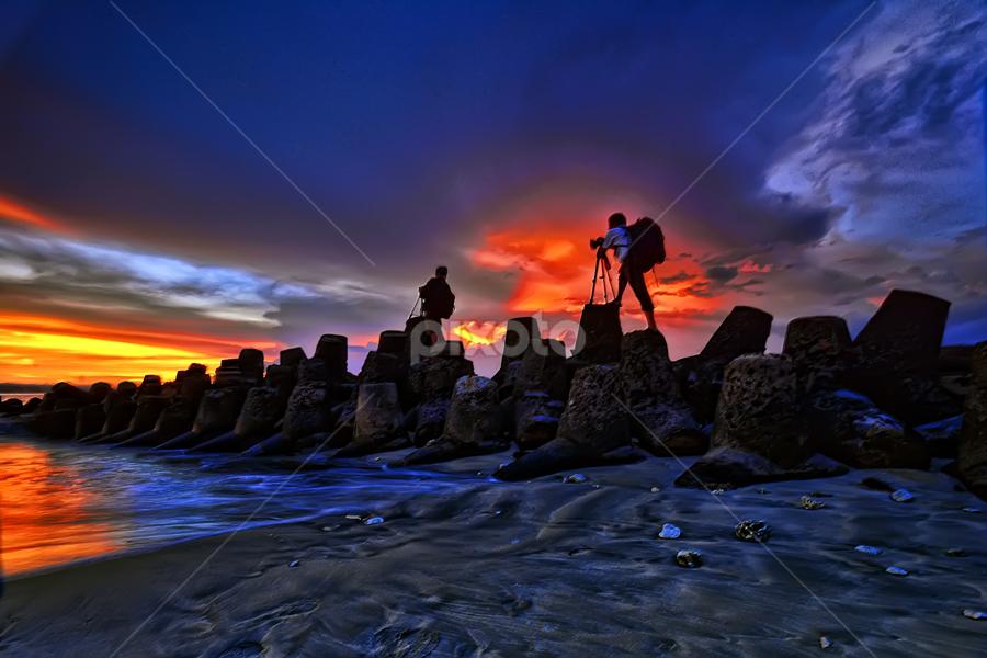 Landscaper by Hendri Suhandi - Landscapes Sunsets & Sunrises ( bali, landscape )