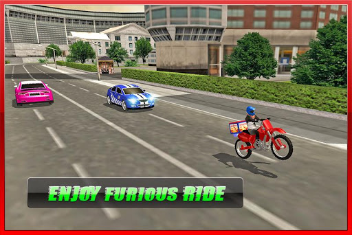 Moto Pizza Delivery - screenshot