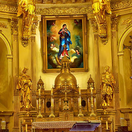 Our Lady of Quebec by Radu Eftimie - Buildings & Architecture Places of Worship ( our lady cathedral, quebec city, chappel )