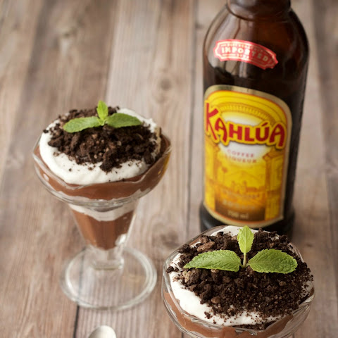 Vegan Kahlua and Cream Parfaits