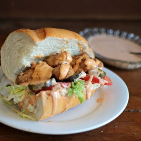 Fried Chicken Po'Boy Recipe with Homemade Remoulade