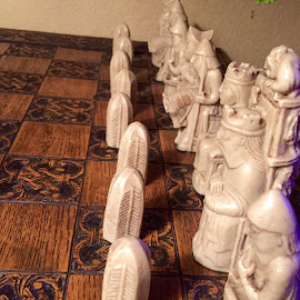 All Lined Up by Lope Piamonte Jr - Artistic Objects Other Objects