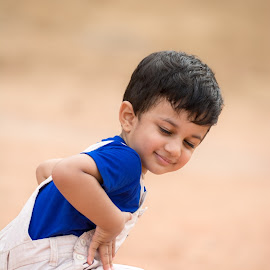 son by Vaibhav Jain - Babies & Children Children Candids ( family, son, boy, portrait, kid )