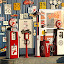 OLYMPUS DIGITAL CAMERA          by Joel Mcafee - Products & Objects Business Objects ( signs, automotive, service station, gas pumps )