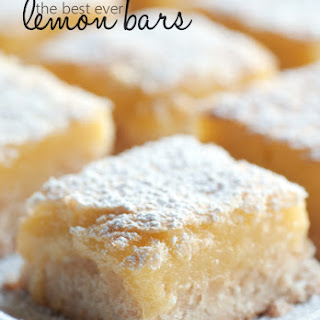 Lemon Bars With Lemon Zest Recipes