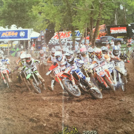 Justin Loretta Lynn's Holeshot by Teresa Flowers Wolford - Sports & Fitness Motorsports ( amazing, motocross, ktm bike, mx racing, awesome, racing, racer, son, dirt, championship )