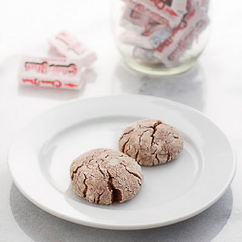 Choc-Nut Chocolate Crackle Cookies