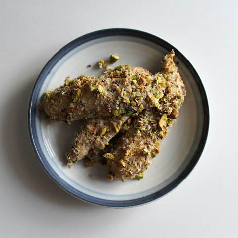 Pistachio Encrusted Coconut Lime Chicken