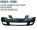 Sonata 2004 Bumper, Front Bumper, Front Bumper Support, Front Bumper Reinforcement, Rear Bumper, Rear Bumper Reinforcement, Rear Bumper Support (86510-3K000, 86512-3K000, 86530-3K000, 86561-3K000, 86610-3K001, 86660-3K000, 86630-3K000)
