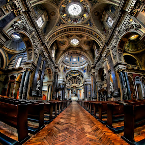 by Richard  Harris - Buildings & Architecture Places of Worship ( catholic, brompton oratory, uk, london, church )