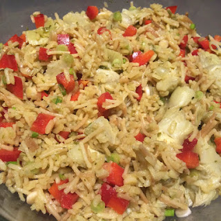 Rice A Roni Salad With Artichokes Recipes
