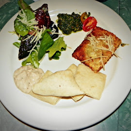 Healthy Dinner by Sandy Stevens Krassinger - Food & Drink Plated Food ( dinner, colorful, food, healthy, plated food )