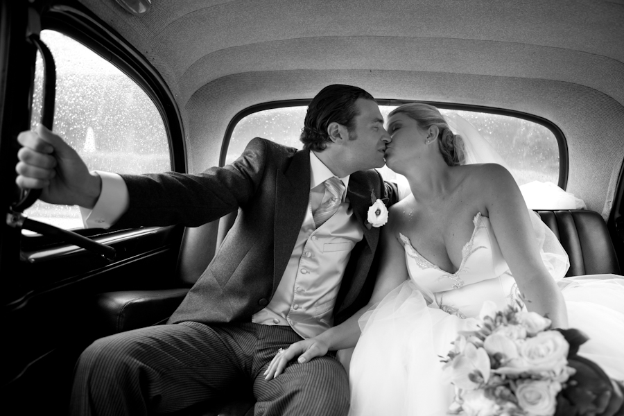 CAB KISSES by Alexandre Moulard - Wedding Bride & Groom ( wedding, france, bride and groom )
