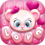 Pink Love Keyboard Changer Icon
