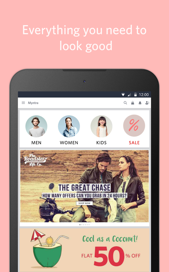 Myntra Online Shopping App Screenshot 8