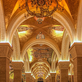 by Гојко Галић - Buildings & Architecture Architectural Detail ( lights, detail, building, arches, architecture )